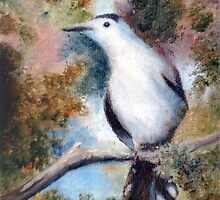Gray Catbird by Brenda Thour