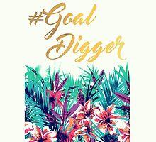 Floral #GoalDigger  by Akmilr