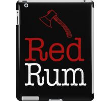 The Shining Red Rum Stephen King iPad Case/Skin