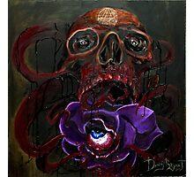 Death Bloom Photographic Print