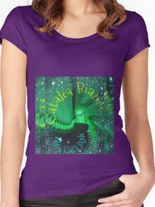 Emeralds Falling Women's Fitted Scoop T-Shirt