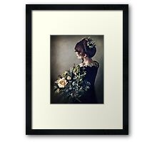 Flowers in the Evening Framed Print