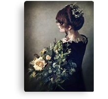 Flowers in the Evening Canvas Print