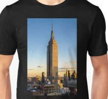 Empire State Building At Dusk Unisex T-Shirt