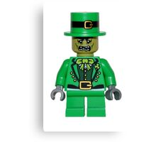 zombie leprechaun Canvas Print
