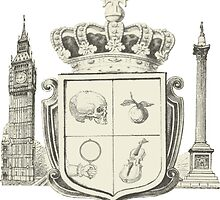 Sherlock Coat of Arms by Yasmeenah