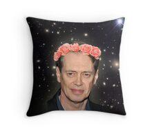 Buscemi Far Out Throw Pillow