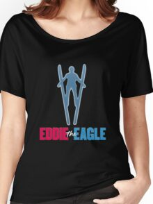 Eddie the eagle Women's Relaxed Fit T-Shirt