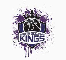 South Geelong Kings Basketball Kids Tee