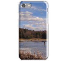 Die hard fishermen iPhone Case/Skin