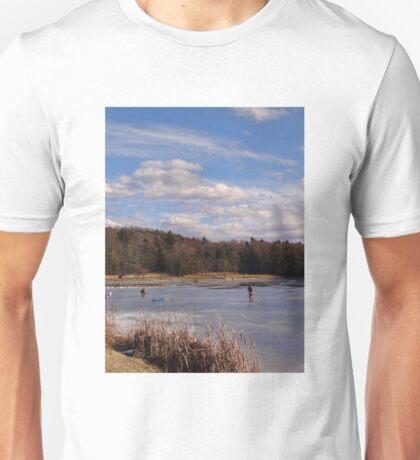 Die hard fishermen Unisex T-Shirt
