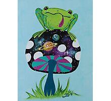 Cosmic Frog Photographic Print