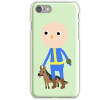 Soul Survivor + Dogmeat iPhone Case/Skin