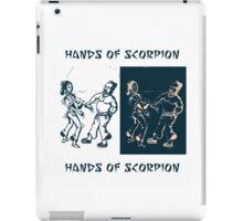 Hands of scorpion iPad Case/Skin