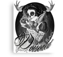 Poisoned Canvas Print