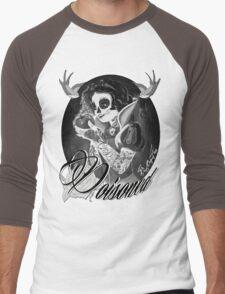 Poisoned Men's Baseball ¾ T-Shirt