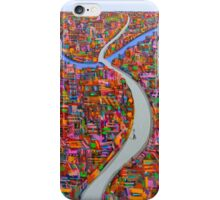 Dance of the city iPhone Case/Skin