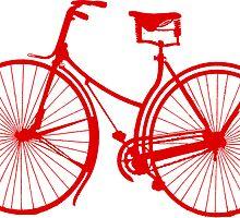 Red Bike by adventureliela