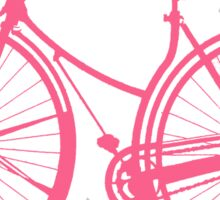 Pink BIke Sticker