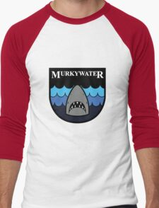 Payday 2 - Murkywater Shield Logo  Men's Baseball ¾ T-Shirt