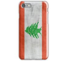 Flag Lebanon iPhone Case/Skin