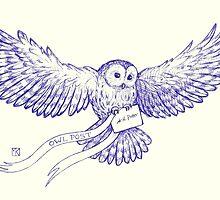 Hogwarts Letter by redgoldsparks