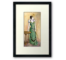 Lady Loki Framed Print