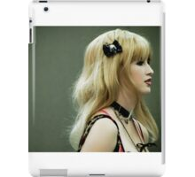 With a Black Bow iPad Case/Skin