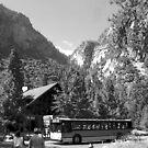 Yosemite Yosemite Village Plate 12 by John Schneider