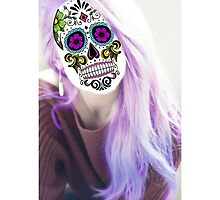 Sugar Skull Girl by annelisedommy