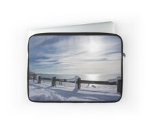 Winter at the Beach Laptop Sleeve