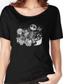 Day of the Dead Jack and Sally Women's Relaxed Fit T-Shirt