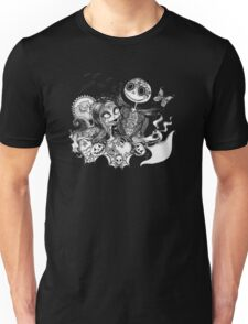 Day of the Dead Jack and Sally Unisex T-Shirt