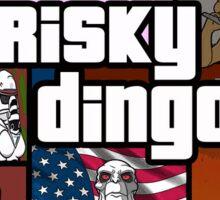 Frisky Dingo Sticker