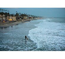 The Lone Surfer Photographic Print