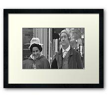 Distinguished Guest Framed Print