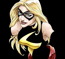 Ms Marvel by Mark Lauthier