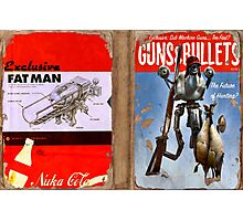 Guns and Bullets (The Future of Hunting?) Photographic Print