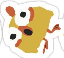 Chicken Pajama Sticker