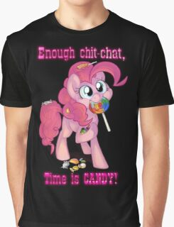Pinkie Pie - Time is CANDY! Graphic T-Shirt