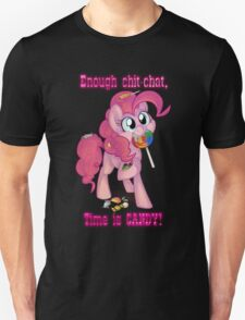 Pinkie Pie - Time is CANDY! Unisex T-Shirt