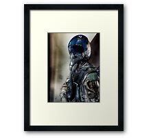 """Air Force Test Pilot"" iPhoneography Framed Print"