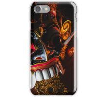 Leak the creepy mask iPhone Case/Skin