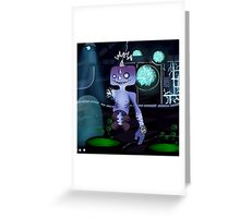 Robot Ghoul Greeting Card