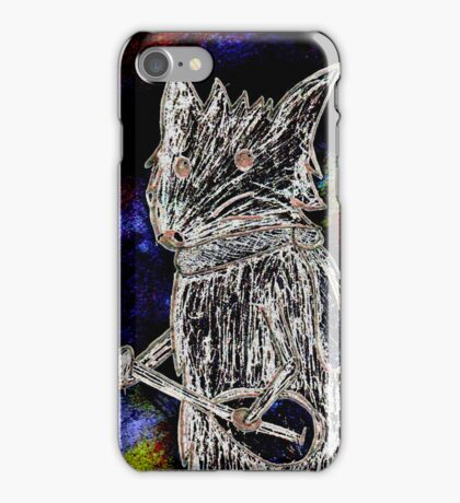 cool and spooky iPhone Case/Skin