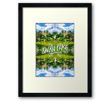Swan Lake Belvedere Pavilion Versailles Petit Trianon France Framed Print