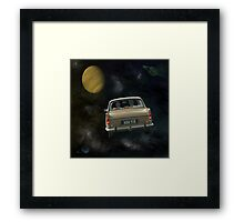 Travellers 4 - by Anne Winkler Framed Print