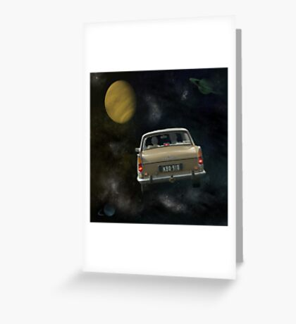 Travellers 2 Greeting Card