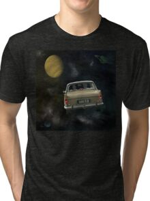 Travellers 4 - by Anne Winkler Tri-blend T-Shirt