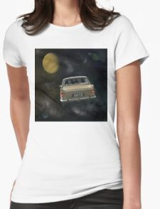 Travellers 4 - by Anne Winkler Womens Fitted T-Shirt